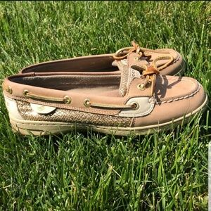 Sperry Angelfish Glitter Shoes